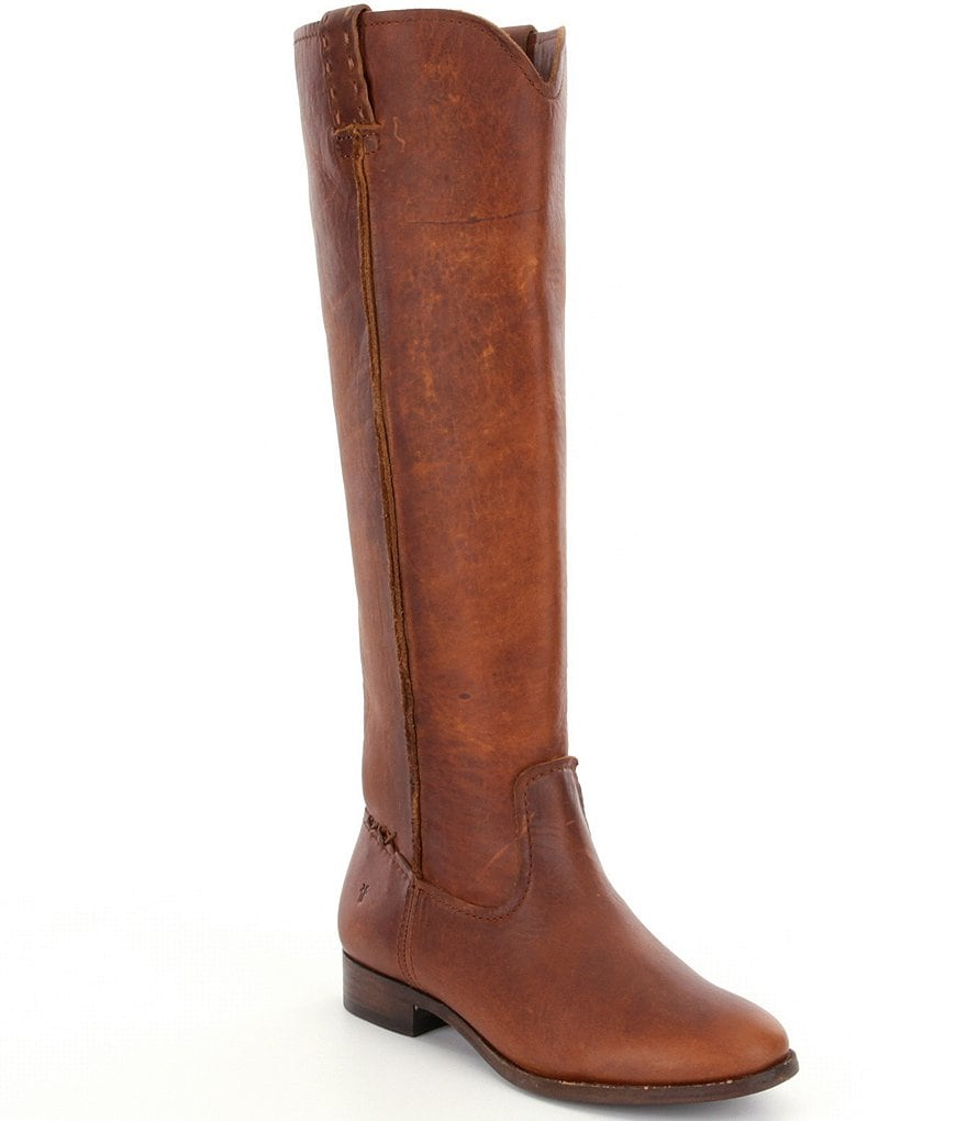 Frye Cara Tall Wide Calf Riding Boots