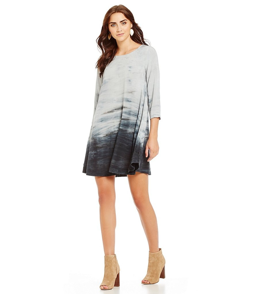 Michael Stars Tie-Dye Swing Dress