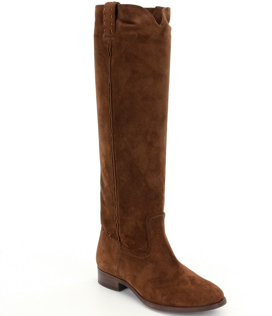 Frye Cara Suede Tall Boots