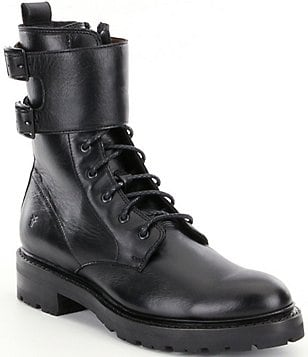 Frye Julie Shield Combat Boots