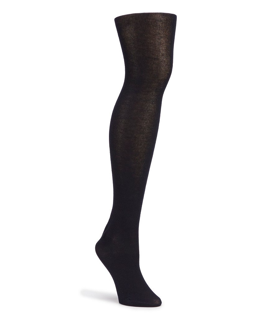 HUE Flat-Knit Sweater Tights