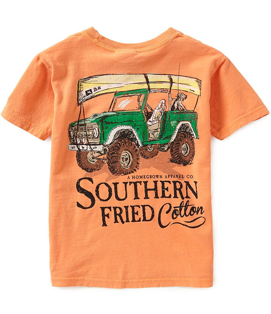 Southern Fried Cotton Big Boys 8-20 It´s All Good Short-Sleeve Graphic Tee