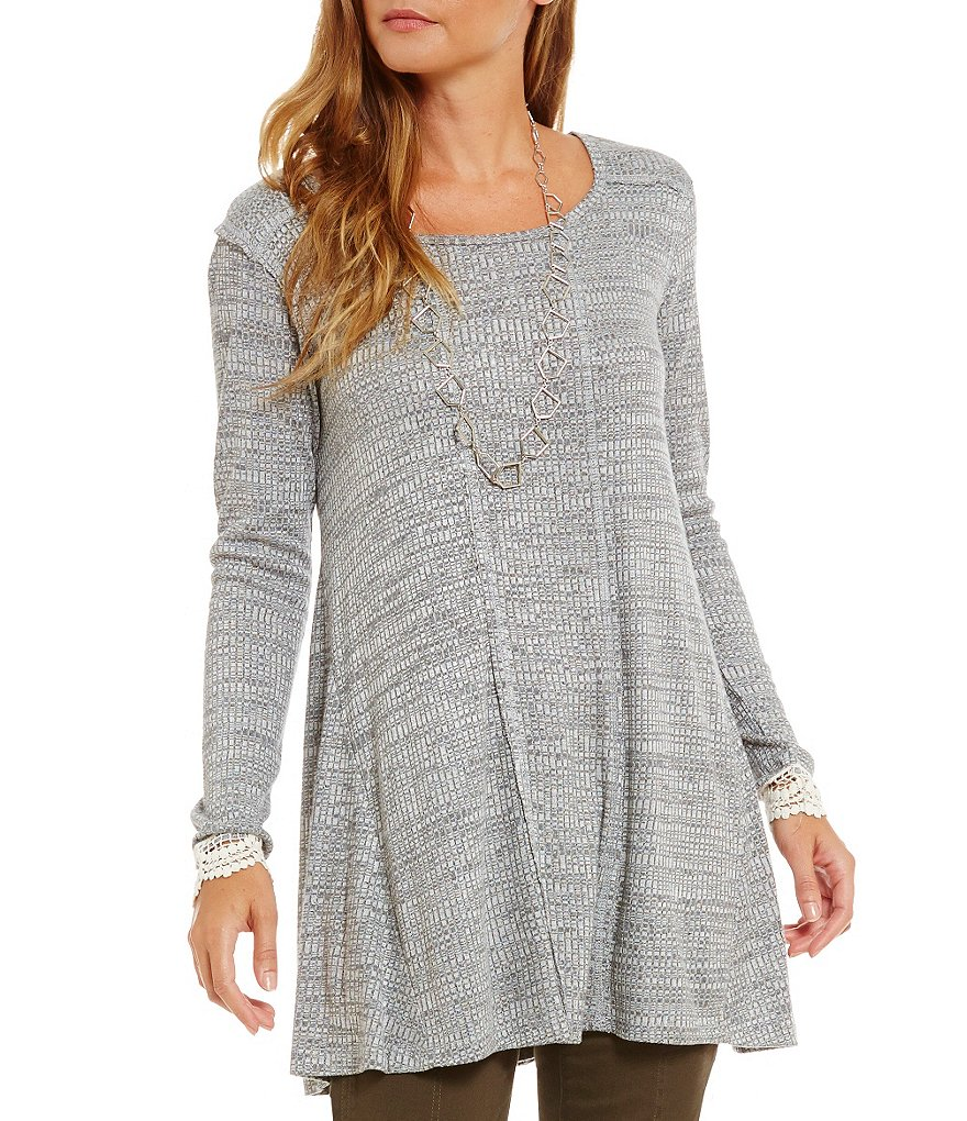 Jolt Rib Knit Swing Tunic