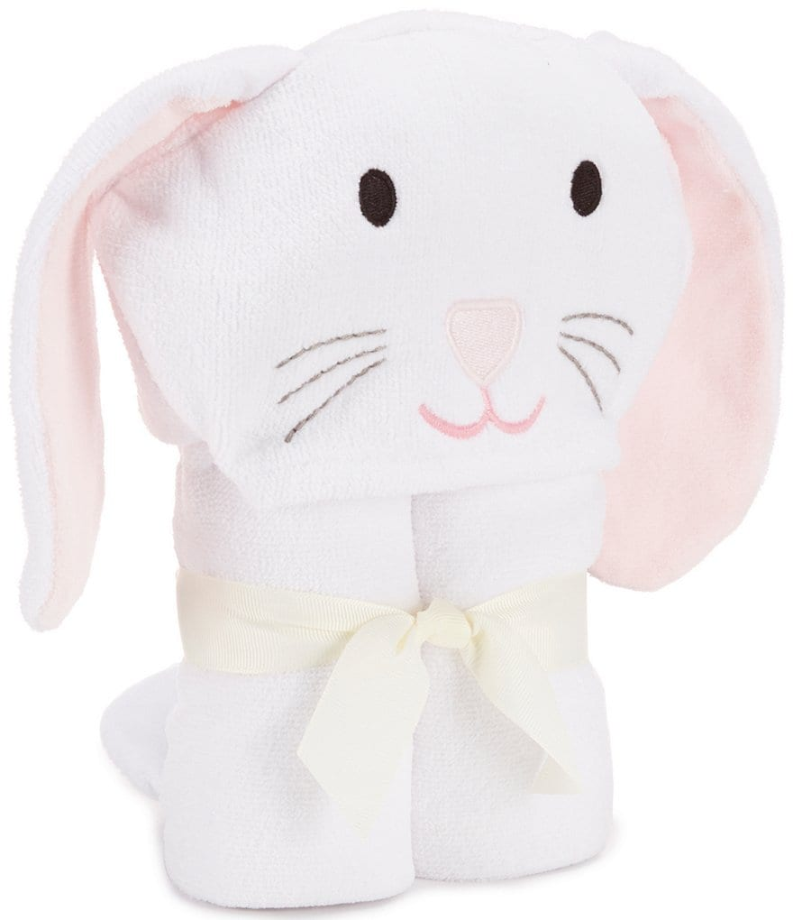 Elegant Baby Girls Bunny Hooded Towel