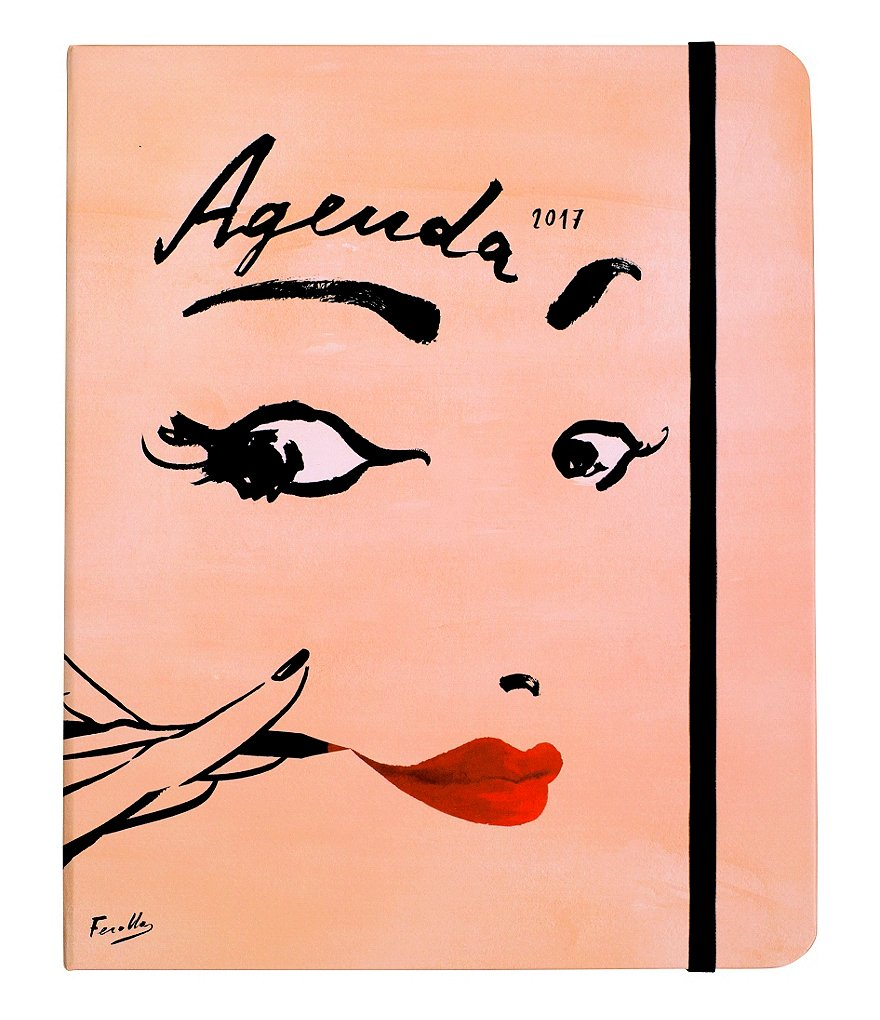kate spade new york Read My Lips 17-Month Large Agenda