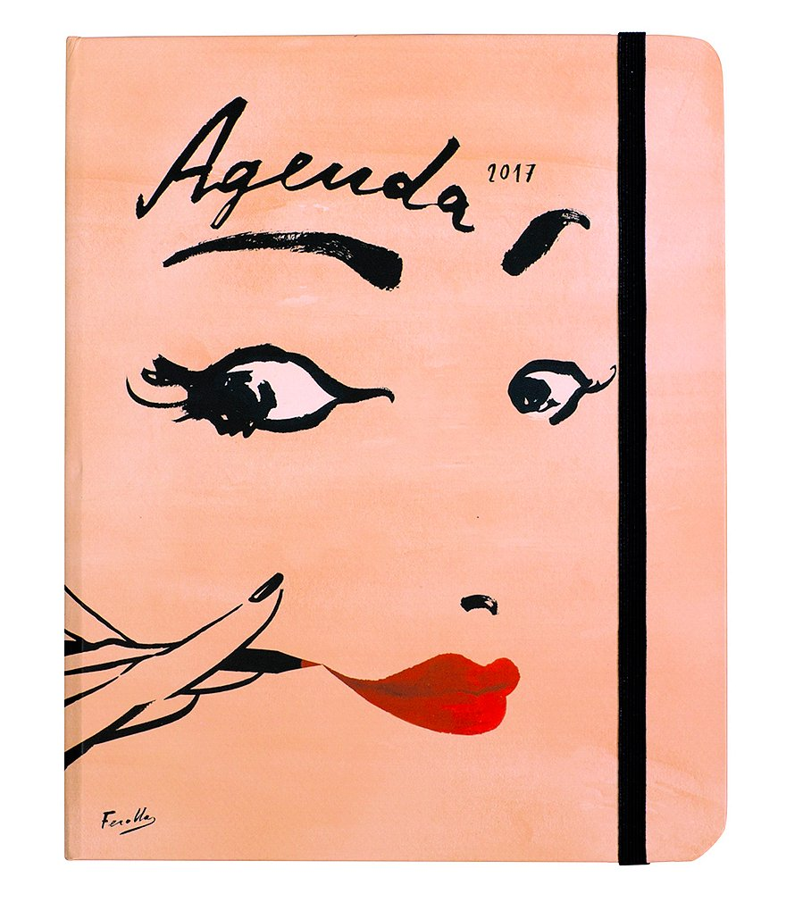 kate spade new york Read My Lips 17-Month Medium Agenda