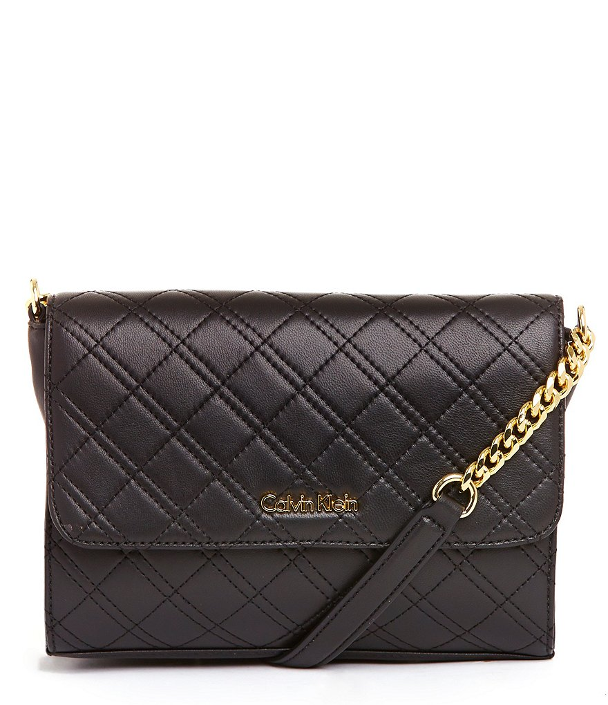 Calvin Klein Quilted Shoulder Bag