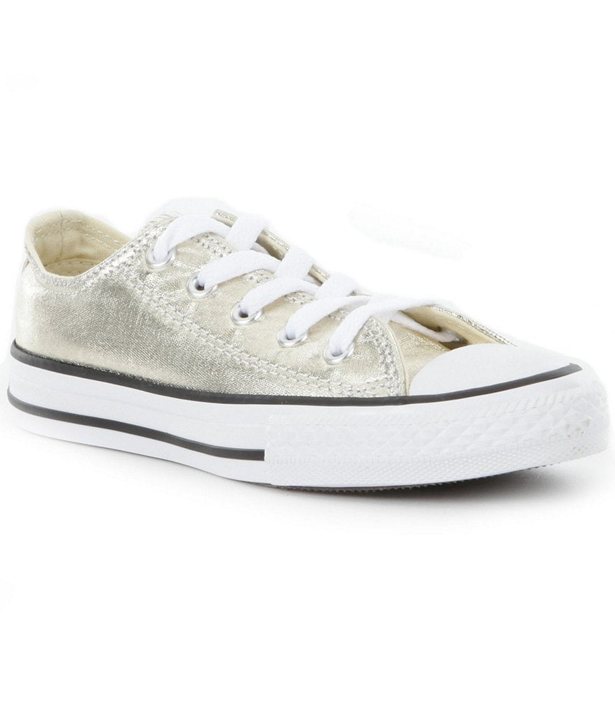Converse Girls' Chuck Taylor® All Star® Metallic Oxford Sneakers
