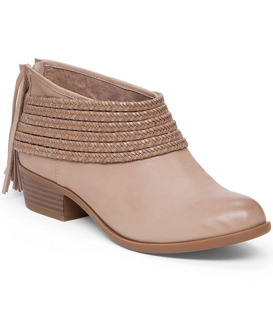 BCBGeneration Craftee Fringe Booties
