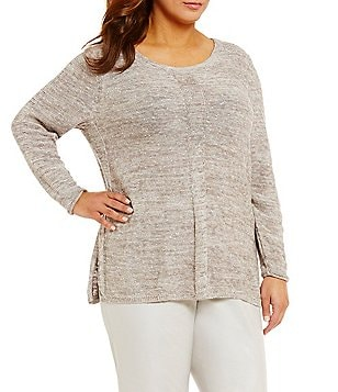 ZOZO Plus Vail Crew Neck Long Sleeve Top