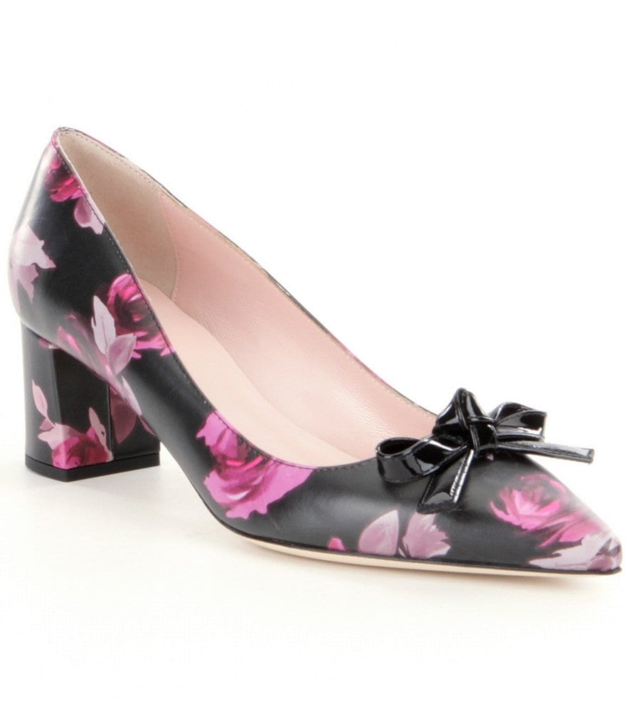 kate spade new york Madelaine Floral Pumps