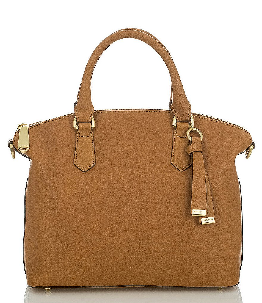 Brahmin South Coast Charleston Collection Duxbury Satchel