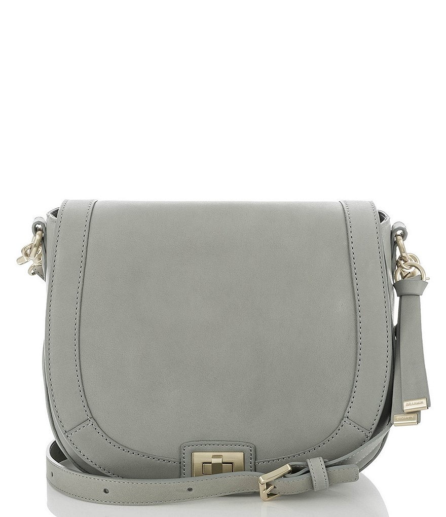 Brahmin South Coast Charleston Collection Sonny Saddle Bag