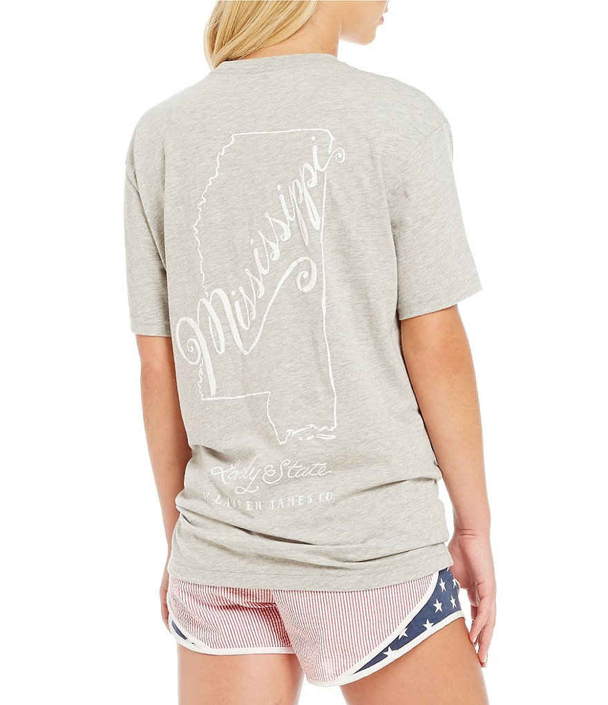 Lauren James Mississippi Line Art Tee
