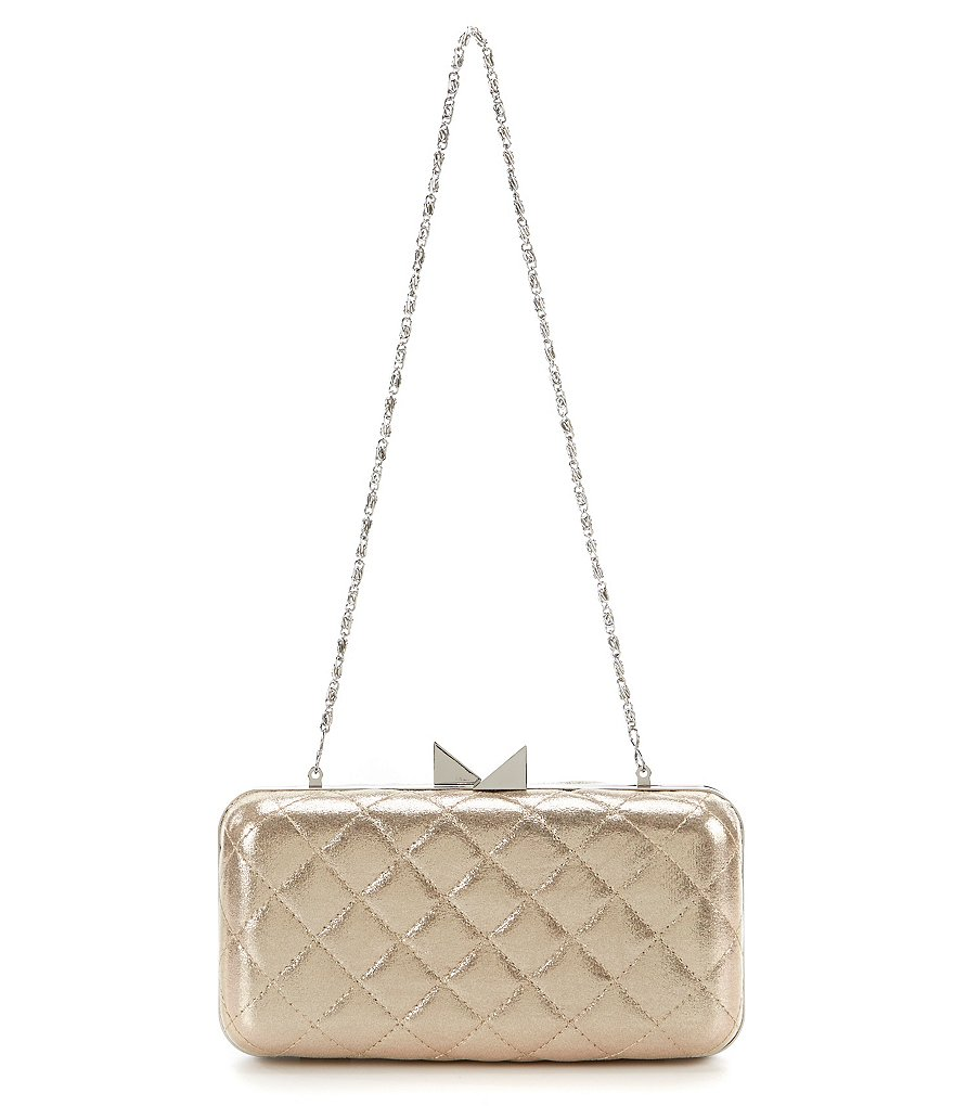 Kate Landry Quilted Frame Clutch