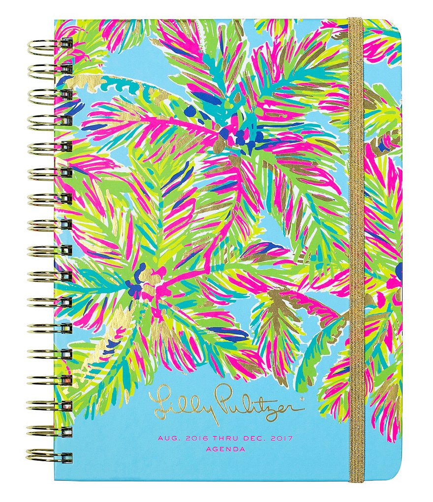 Lilly Pulitzer Island Time Large 2016-2017 Agenda