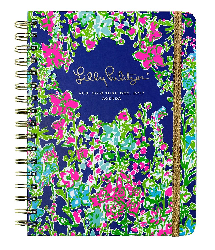Lilly Pulitzer Southern Charm Large 2016-2017 Agenda