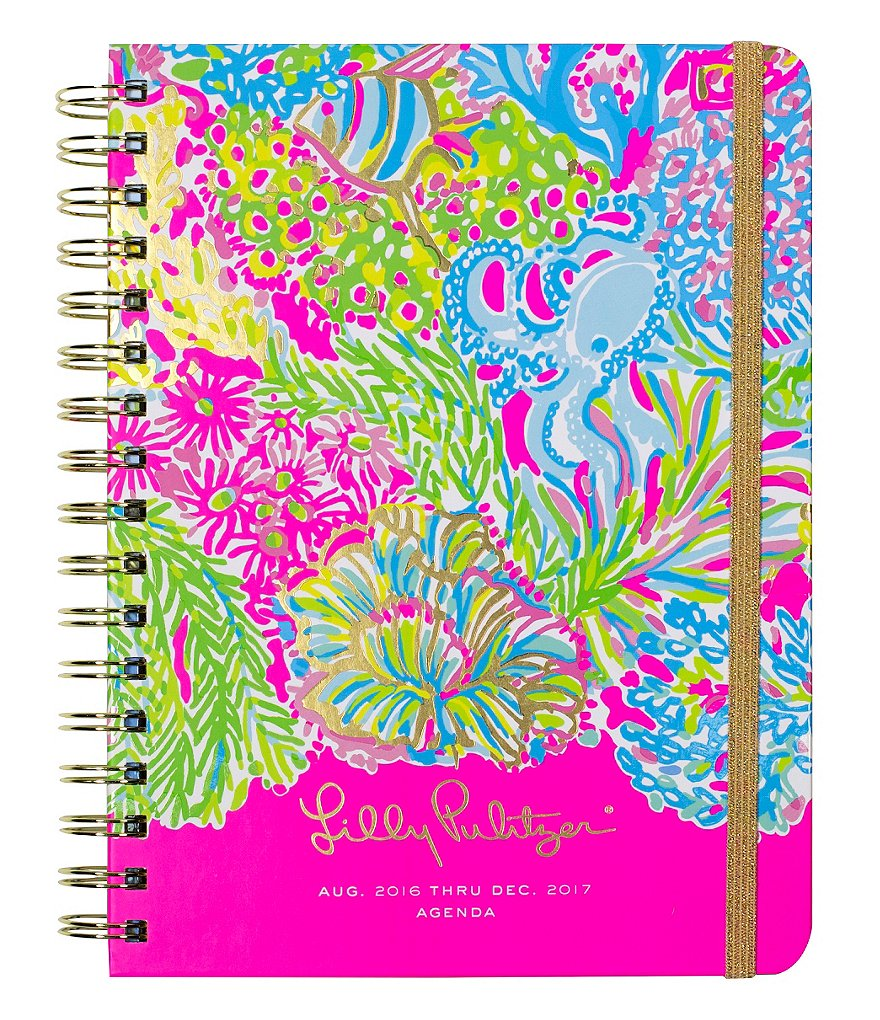 Lilly Pulitzer Lover´s Coral Large 2016-2016 Agenda