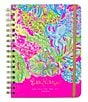 Color:Pink - Image 1 - Lilly Pulitzer Lover´s Coral Large 2016-2016 Agenda