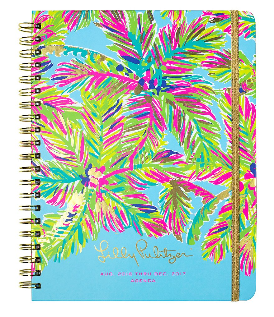 Lilly Pulitzer Island Time Hard Cover Jumbo Agenda