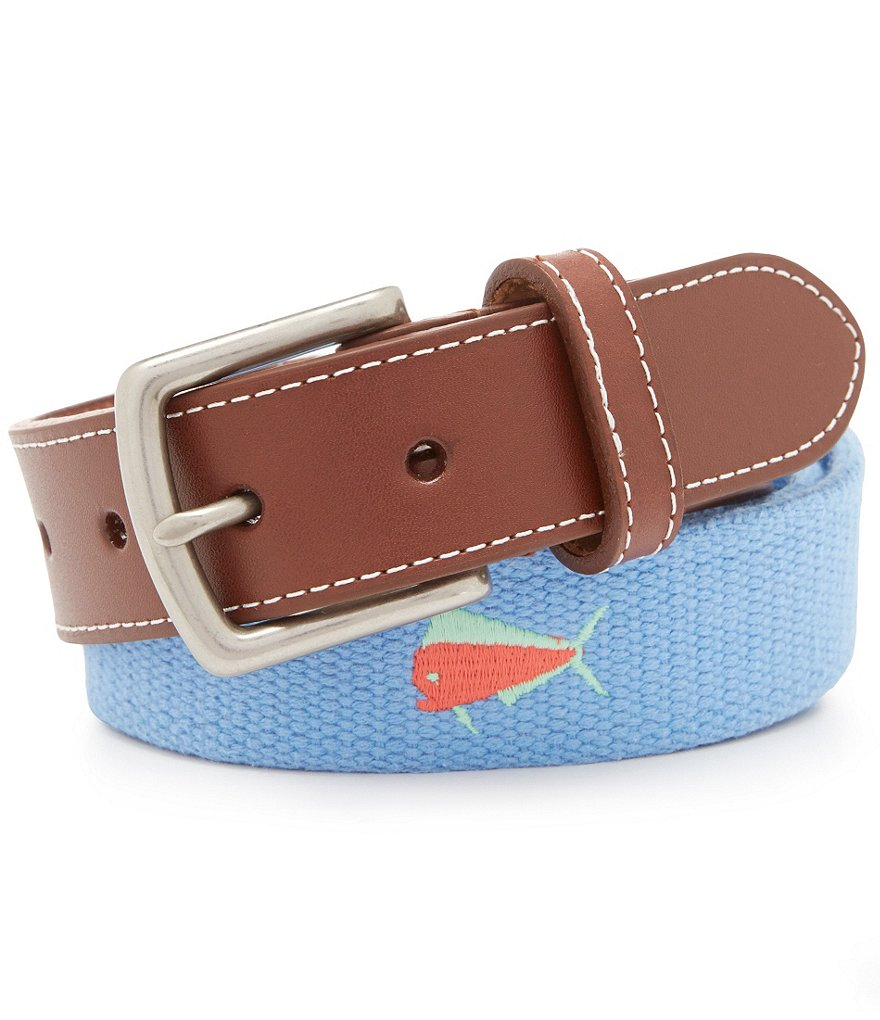 Southern Lure Fish-Embroidered Belt