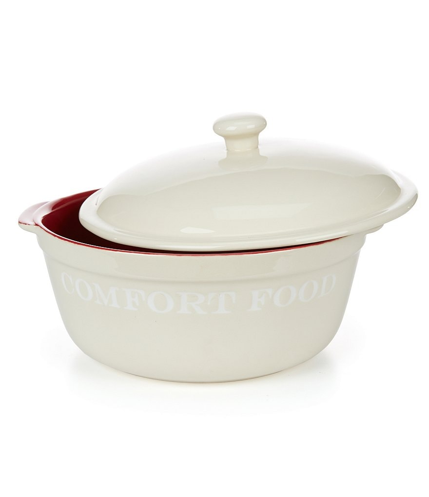 Southern Living Comfort Food Round Individual Casserole Dish