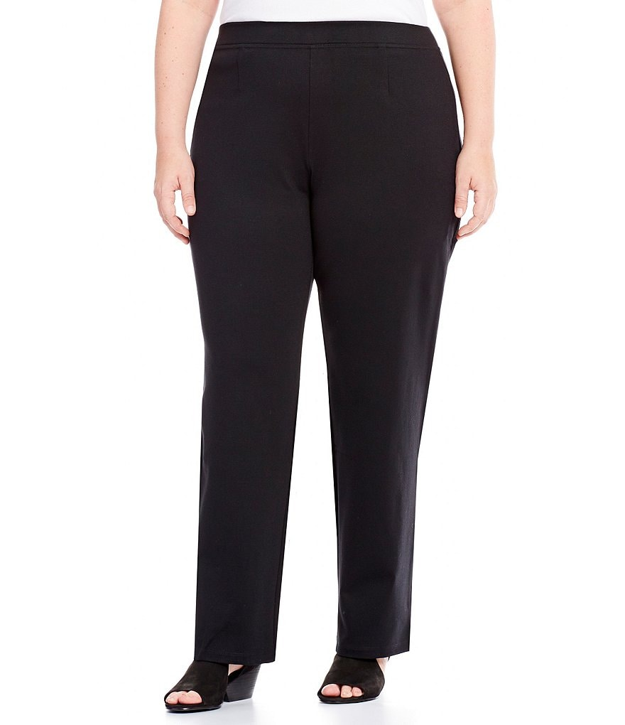 Eileen Fisher Plus Straight Leg Pants