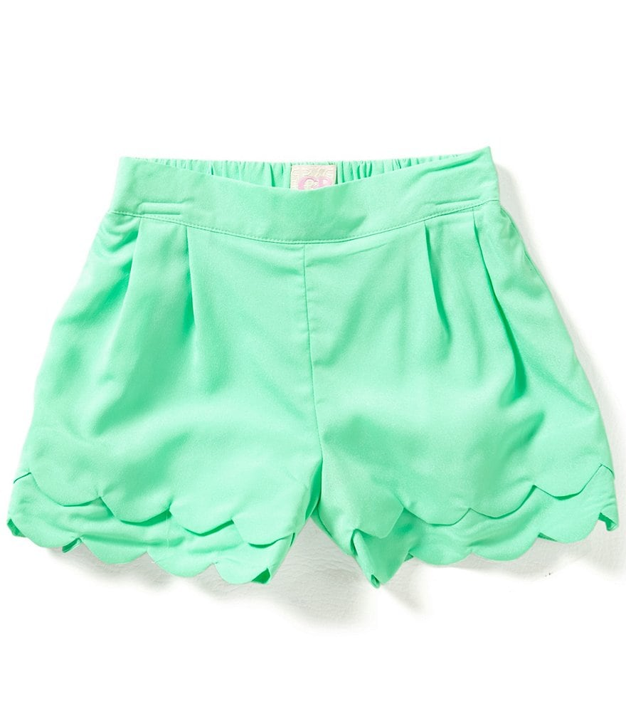 GB Girls Big Girls 7-16 Layered Scallop Hem Shorts