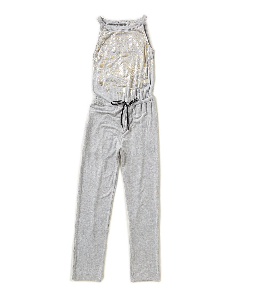 GB Girls Big Girls 7-16 Foil Bodice Jumpsuit