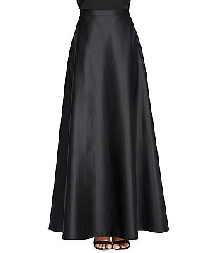 Alex Evenings Long Satin Skirt