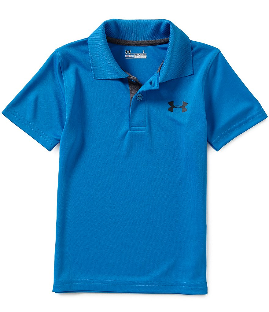 Under Armour Little Boys 2T-7 Match Play Polo Shirt