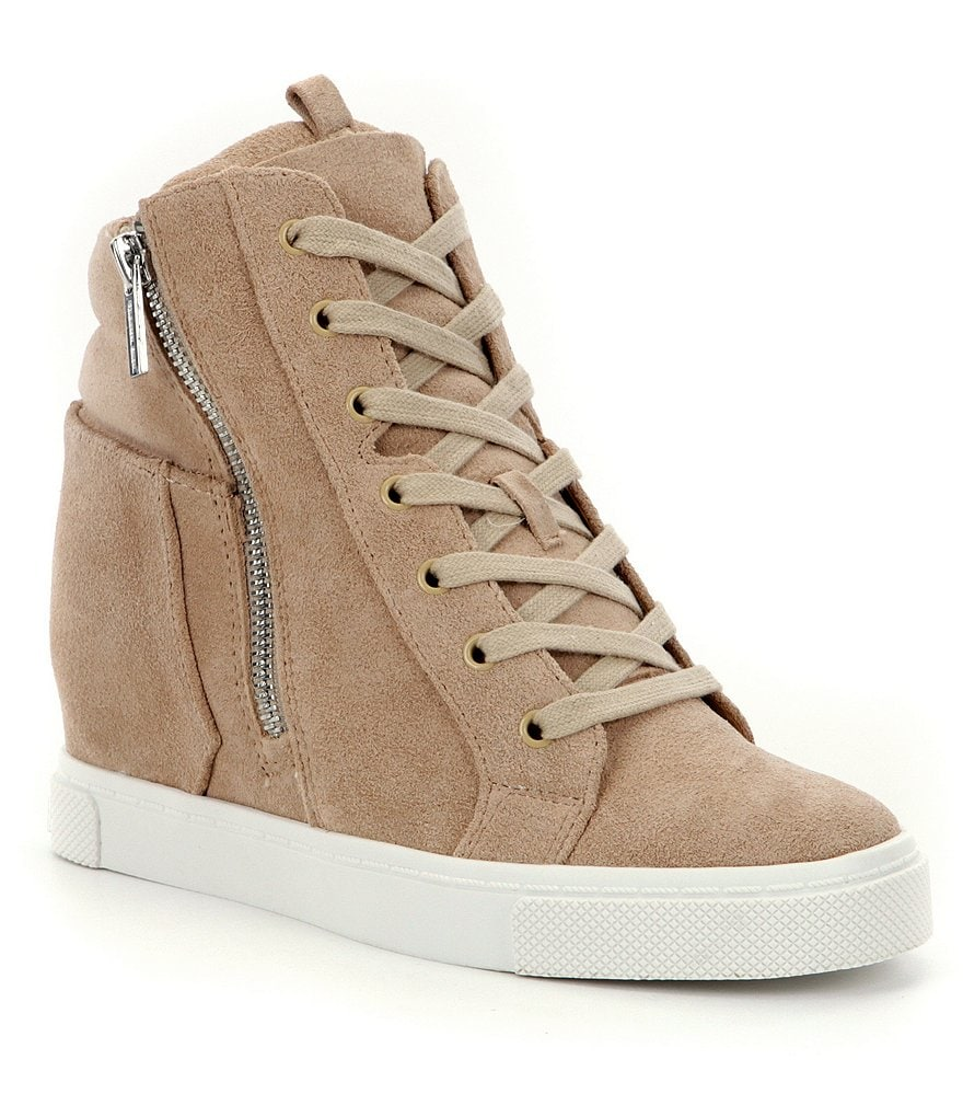 Gianni Bini Kalan Lace-Up Wedge Sneakers