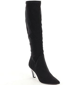 Donald J Pliner Tessa Pointed Toe Pull On Tall Boots