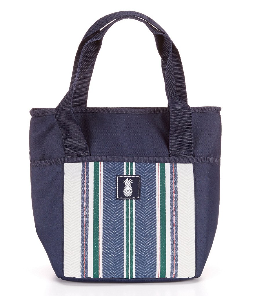 Southern Living® Herringbone Insulated Tote