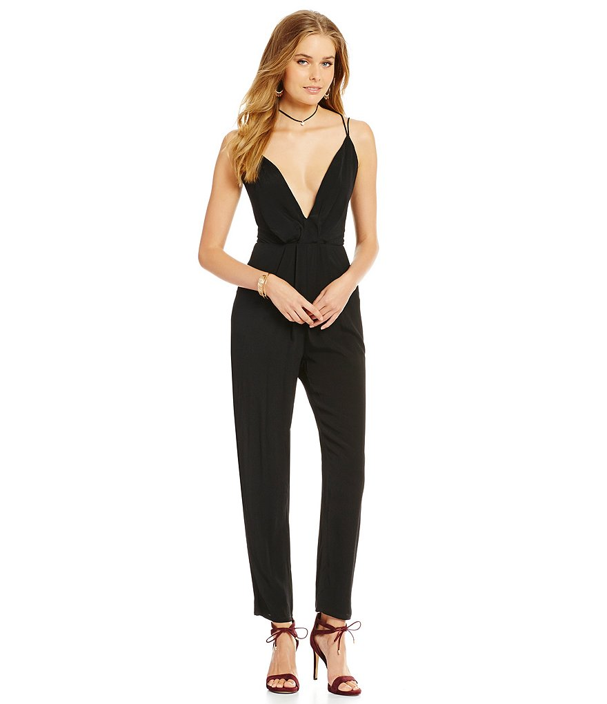 Lovers + Friends My Way Sleeveless Jumpsuit