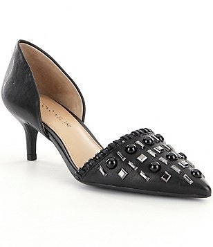 Antonio Melani Vivica Beaded d´Orsay Pumps