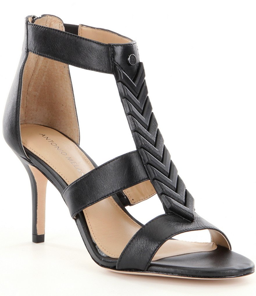 Antonio Melani Jacenia Arrow T-Strap Sandals