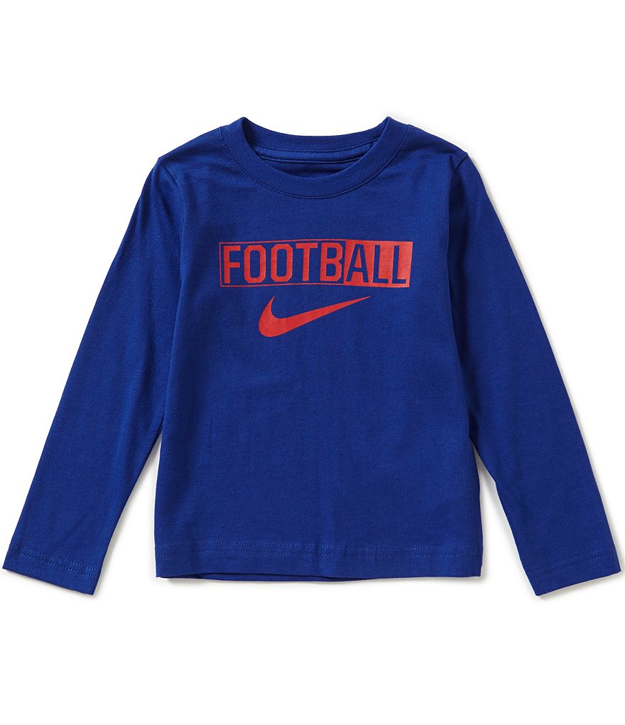Nike Little Boys 2T-7 Football Long-Sleeve Tee