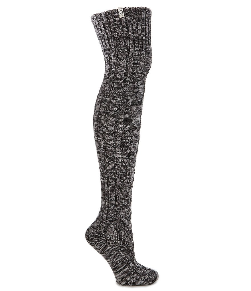 UGG® Classic Cable-Knit Over-the-Knee Socks