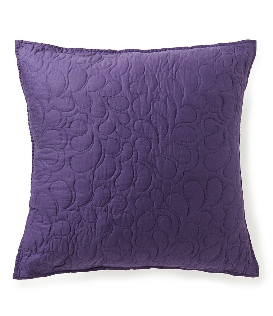 Poetic Wanderlust™ by Tracy Porter Florabella Quilted Cotton Euro Sham