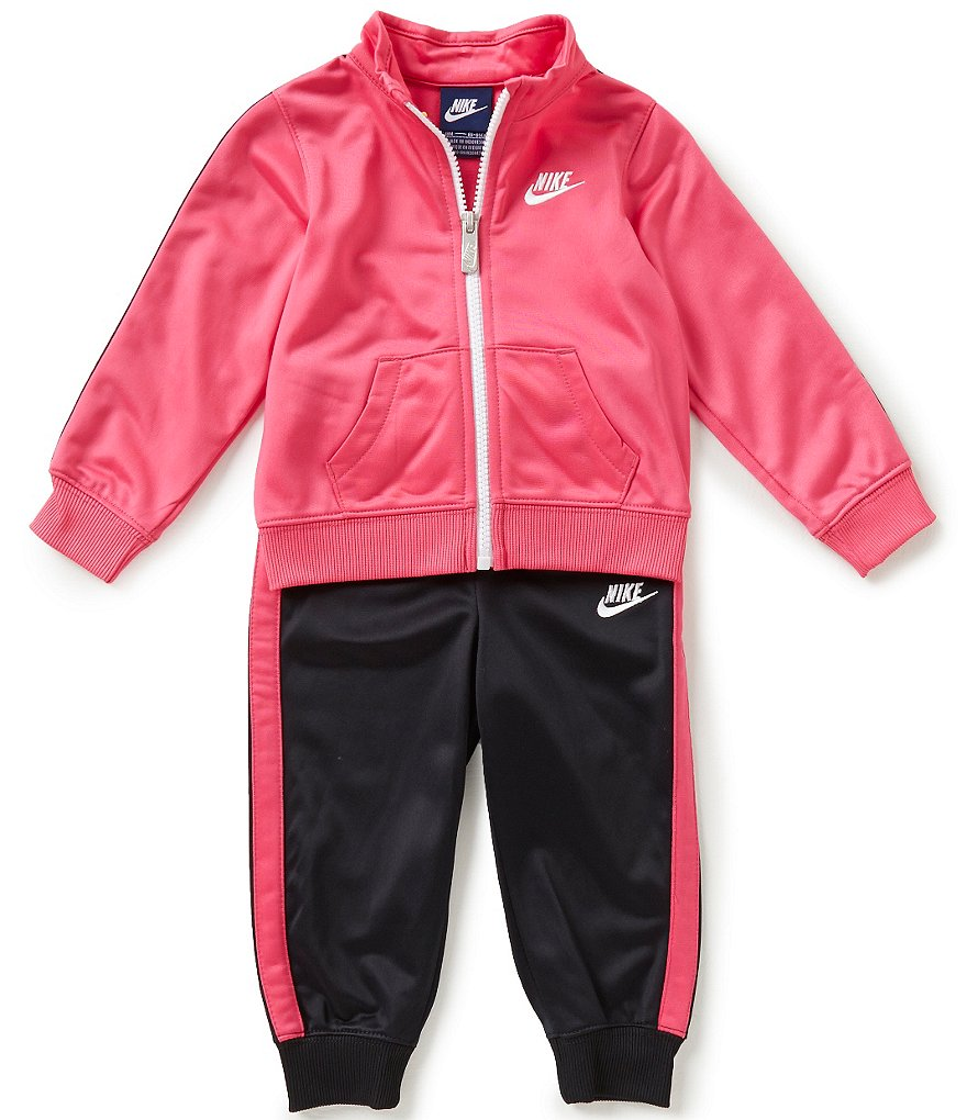 Nike Baby Girls 12-24 Months Tricot Track Suit Set