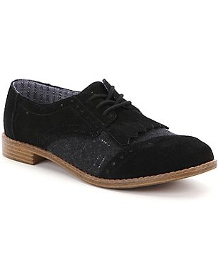 TOMS Brogue Kiltie Oxfords