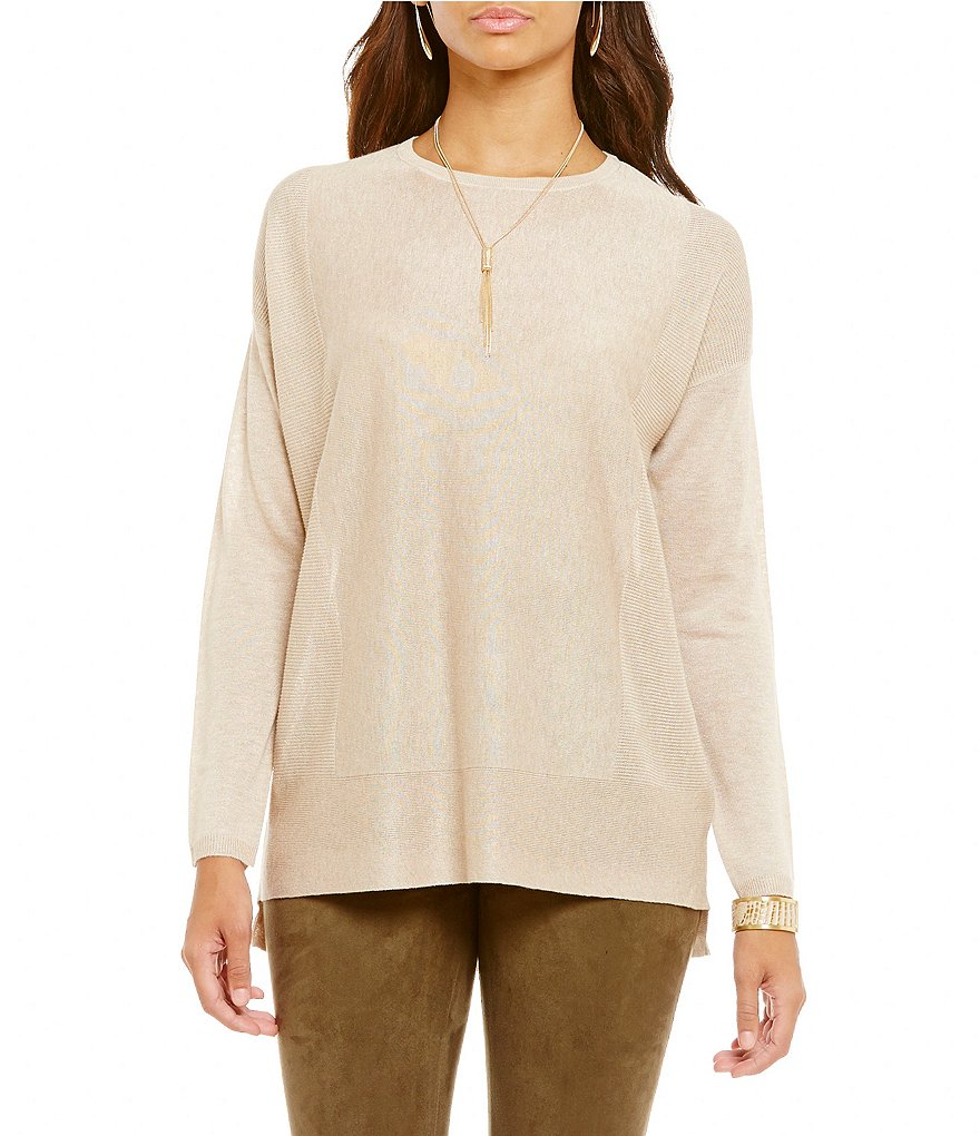 Cremieux Bethanie High-Low Knit Top