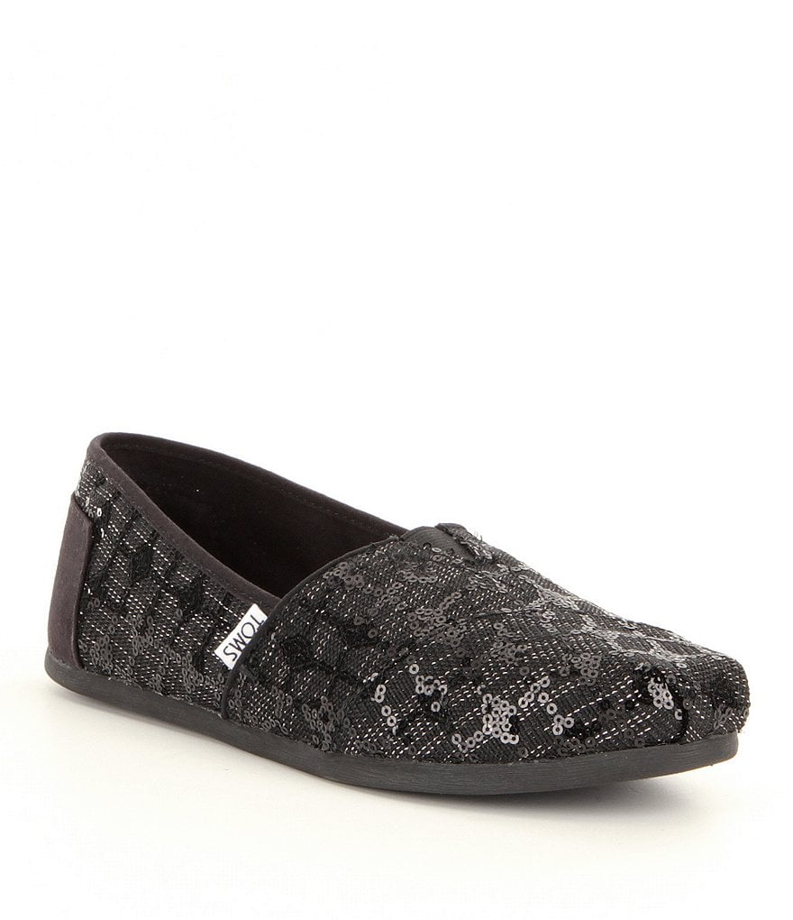 TOMS Seasonal Alpargata Sequin Shoes