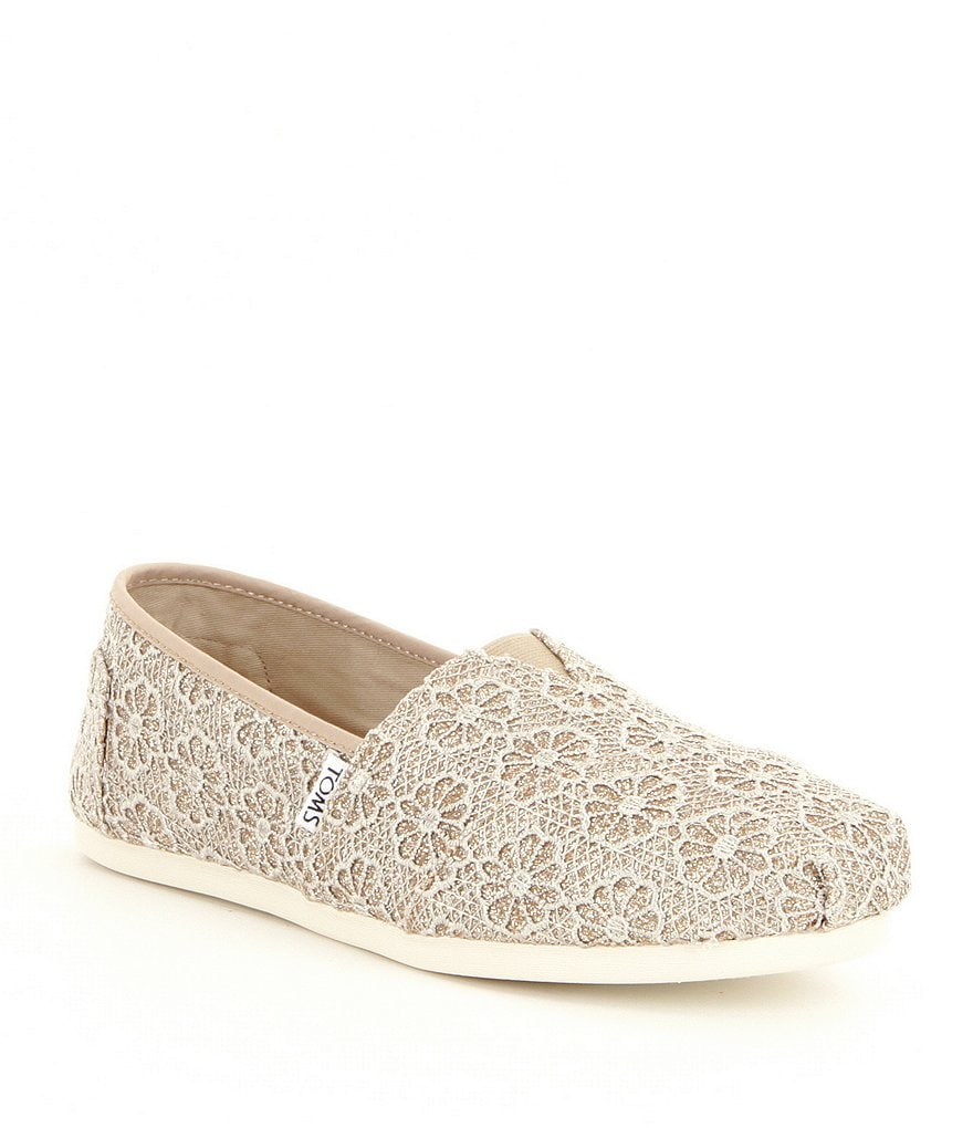 TOMS Seasonal Alpargata Crochet Shoes