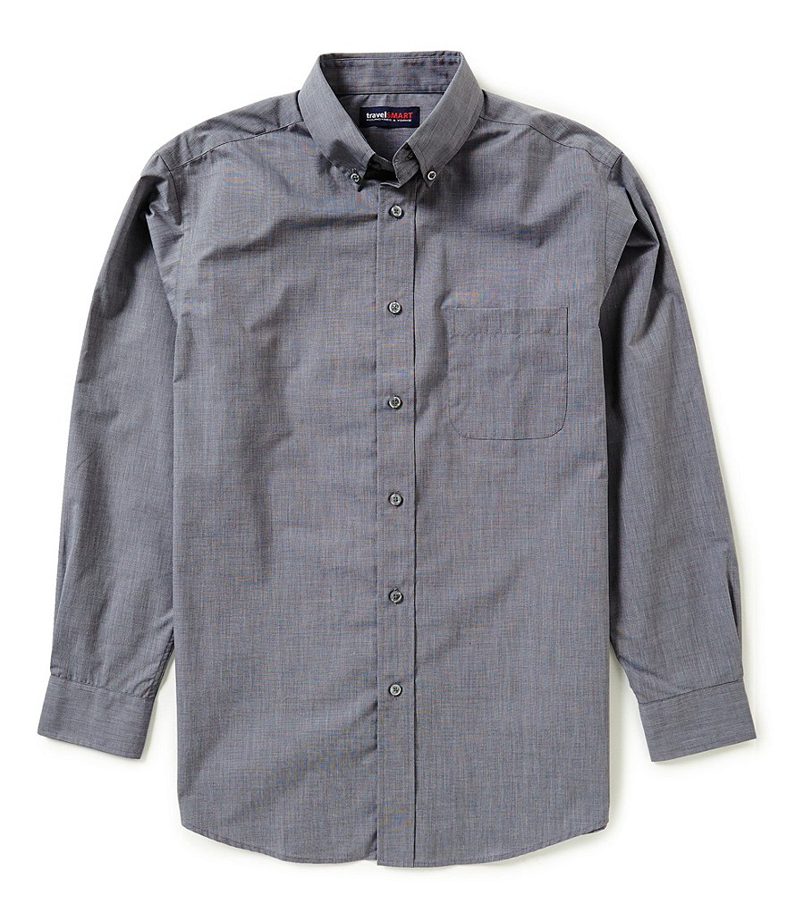 Roundtree & Yorke TravelSmart End on End Solid Sportshirt