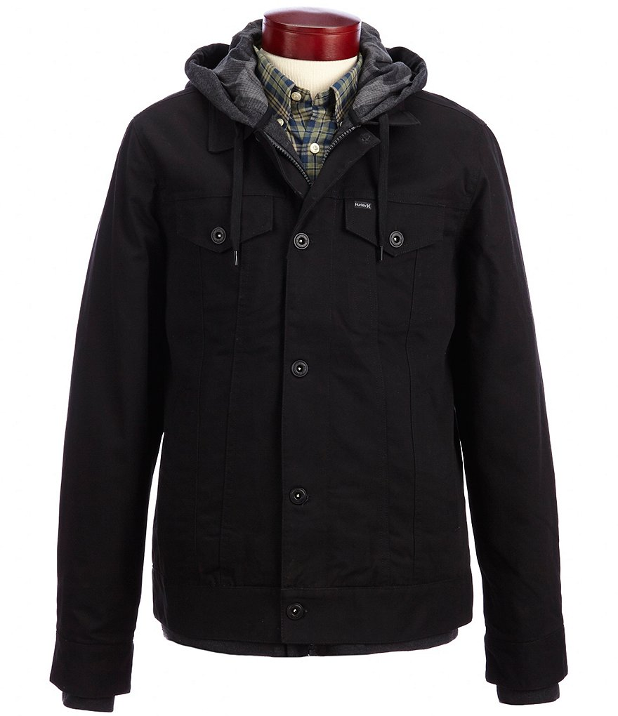 Hurley Hooded Trucker Jacket