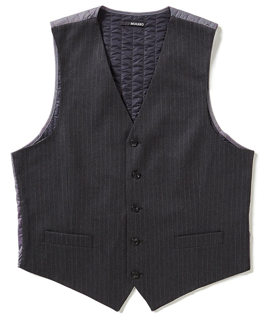 Murano Manhattan Collection Pinstripe Vest