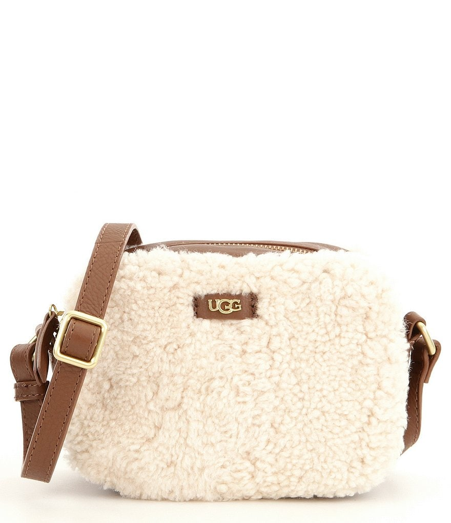 UGG® Claire Box Sheepskin Cross-Body Bag