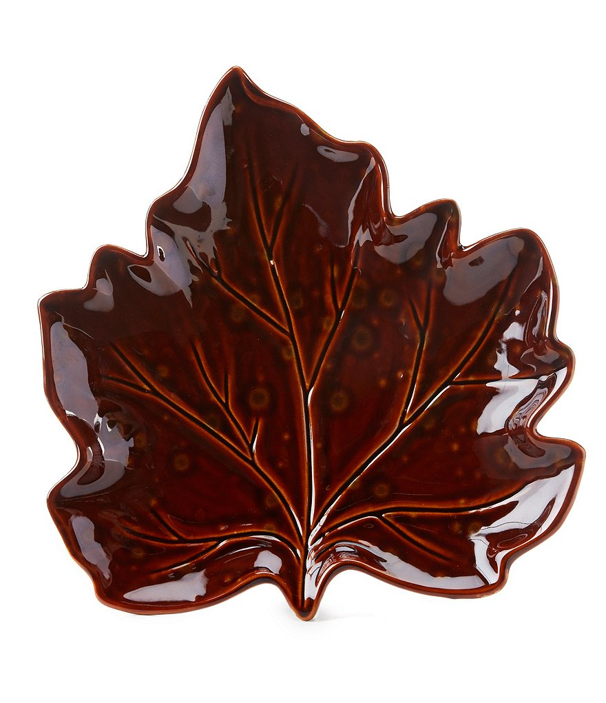 Artimino Harvest Leaf Plate
